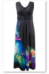 Ein schönes Strandkleid von Ulla Popken